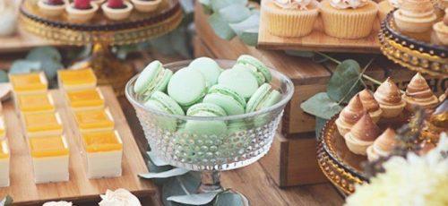 candy bar para bodas y bautizos