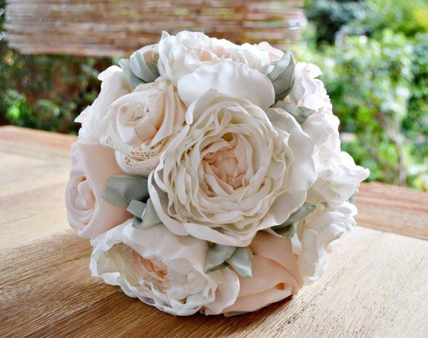 bridal bouquet fabric