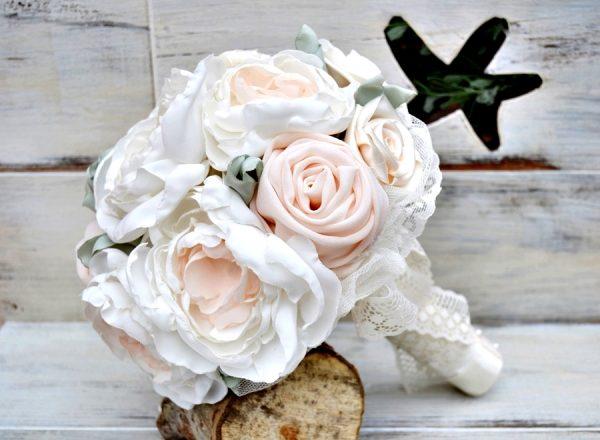 tissu de bouquet de mariée