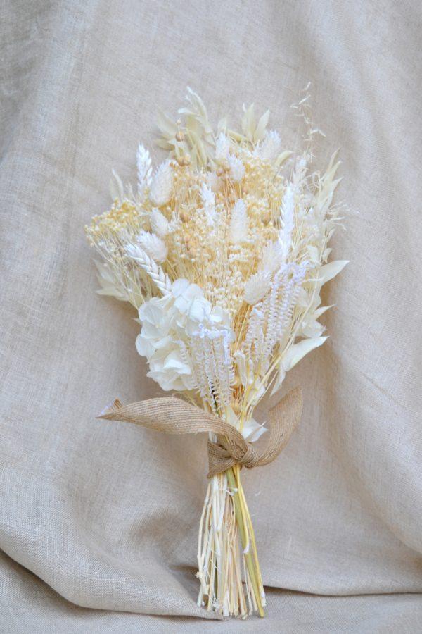 ramo de novia flor seca