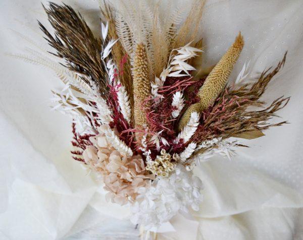 bouquet de mariée fleur séchée boho