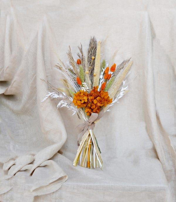 ramo novia naranja