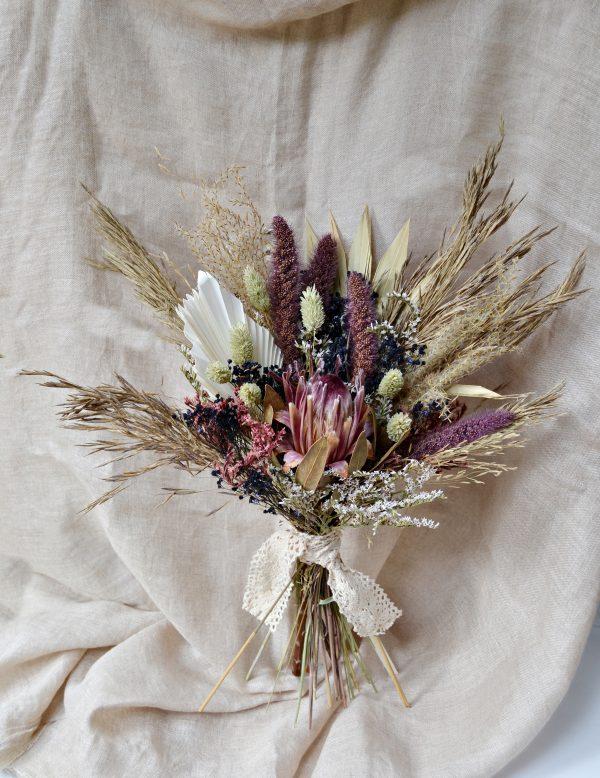 ramo novia protea