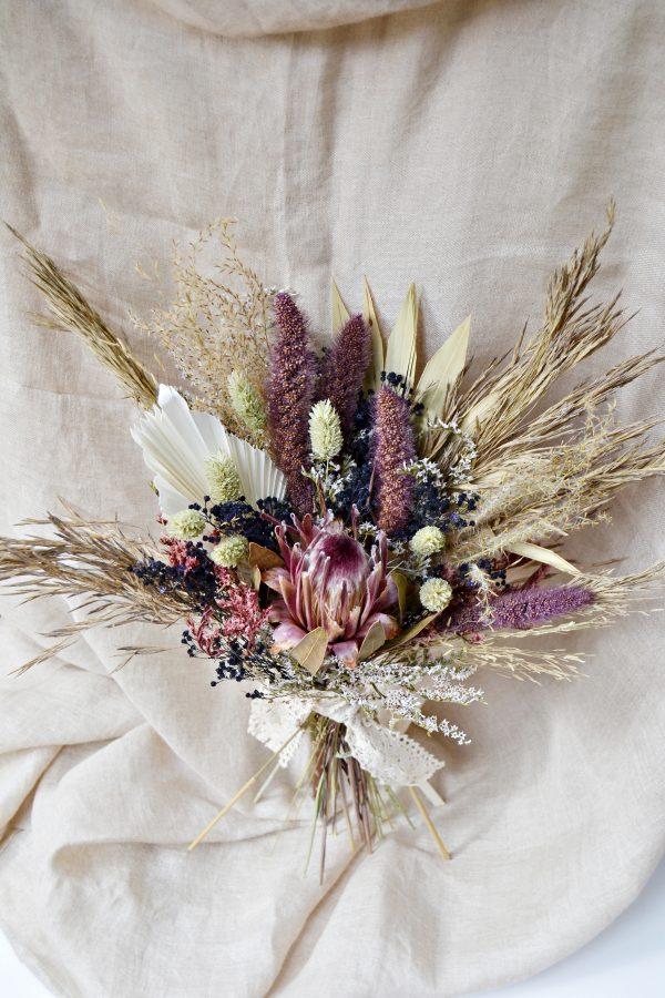 ramo palma boda bohemia