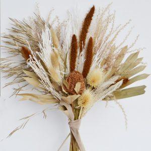 ramo banksia y palma