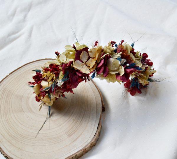 half crown preserved flowers